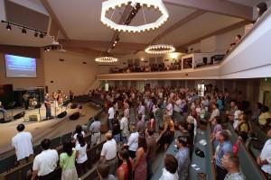 Band in kerk