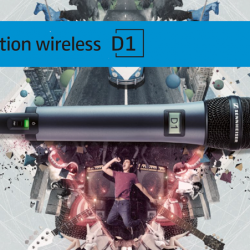 Sennheiser D1 draadloze microfoons