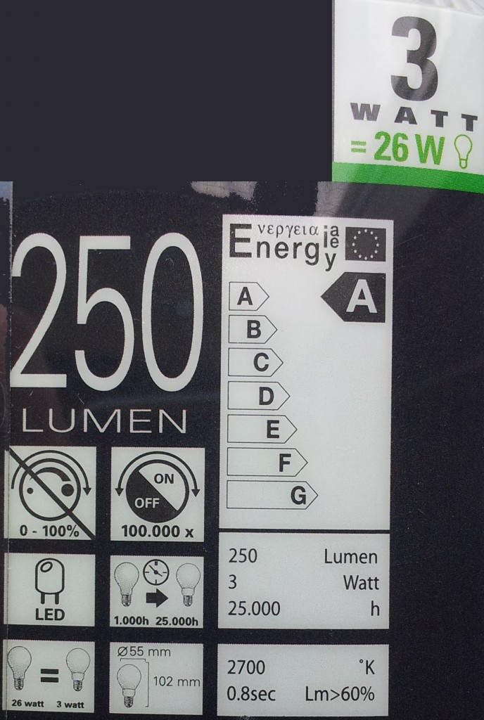 LED-lamp verpakking